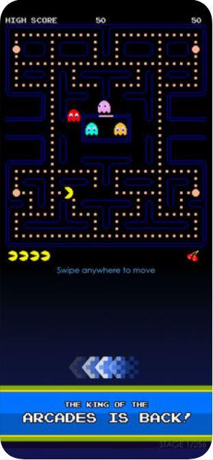 pac man retro mobile games