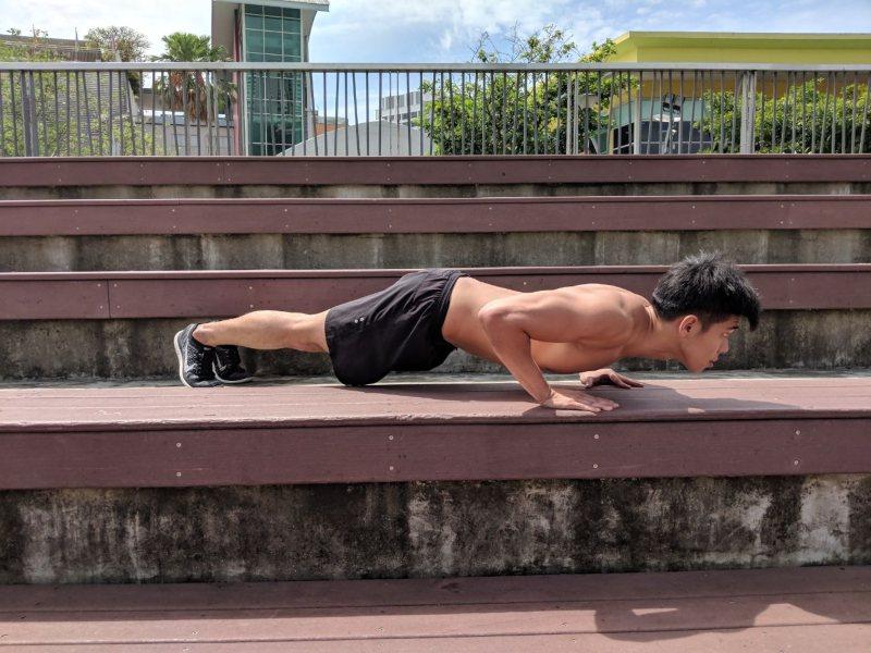basic push up exercise at home