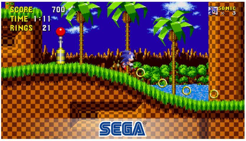 sonic the hedgehog classic retro mobile games
