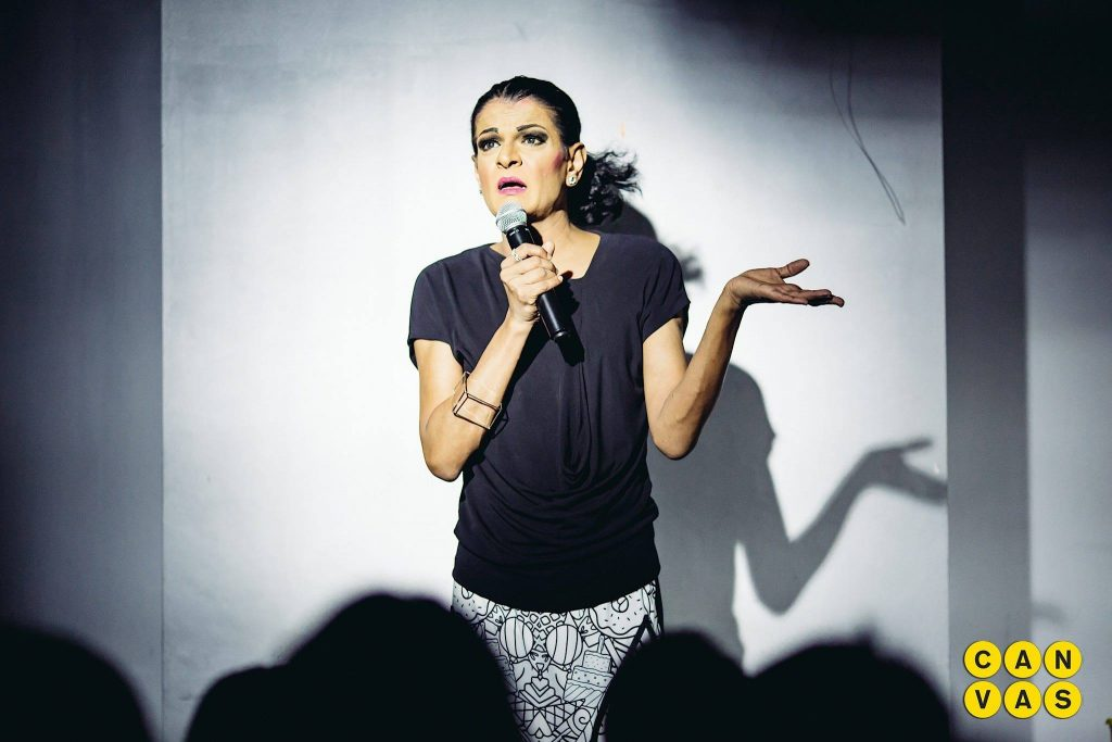 comedy at canvas kumar stand up comedy singapore