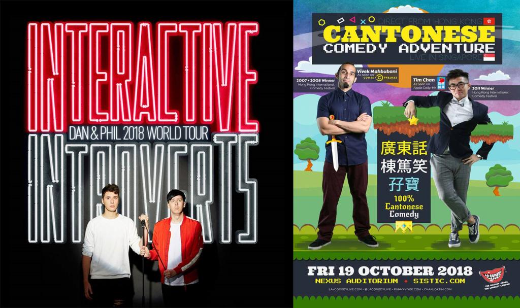 comedy events sg stand up comedy singapore