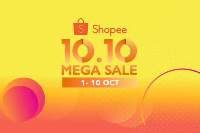 Shopee 10.10 Mega Sale