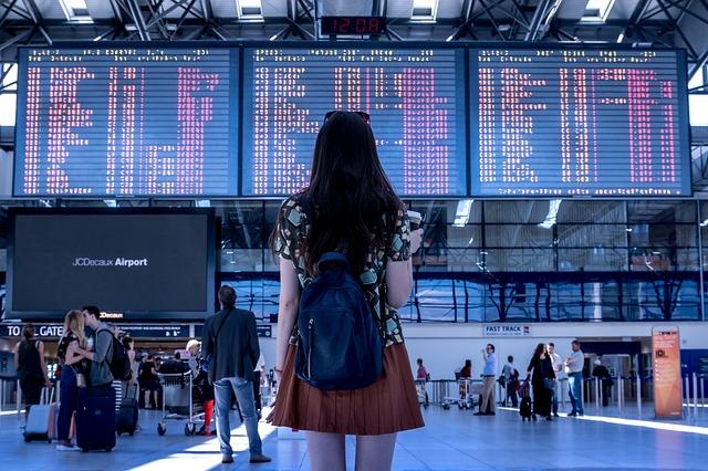 comparing flights airport