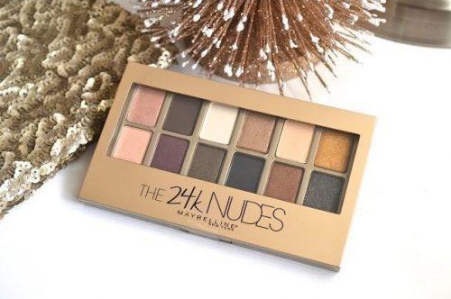Maybelline 24k gold nude eyeshadow palette
