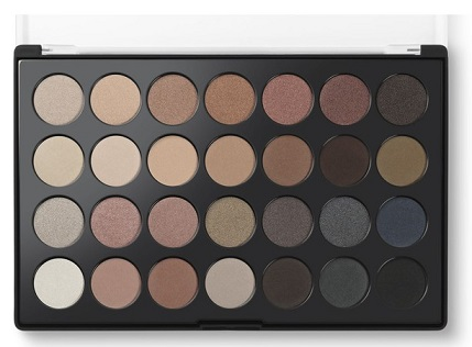 BH cosmetics essential eyes 28 colours eyeshadow palette