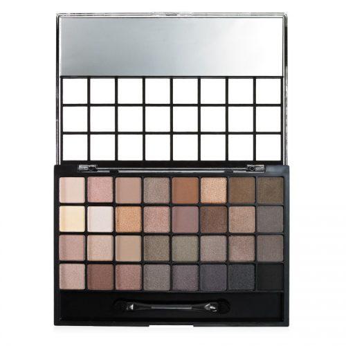 e.l.f. 32 piece eyeshadow palette natural