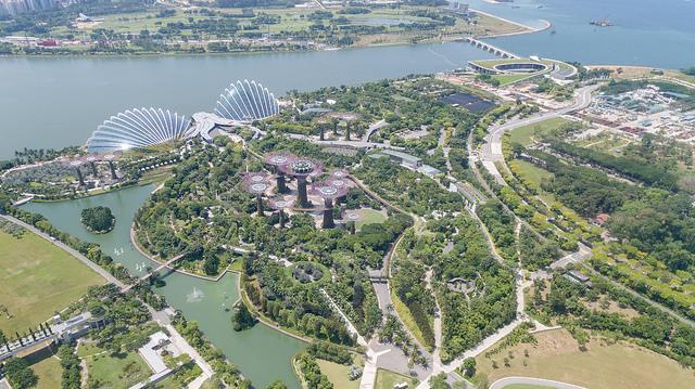 aerial shot drones in singapore