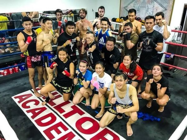 hilltop academy muay thai gyms singapore