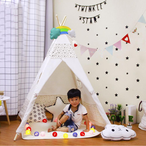 glamping indoor activity with kids
