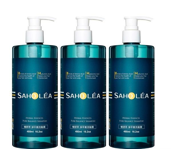 saholea herbal essence pure balance shampoo