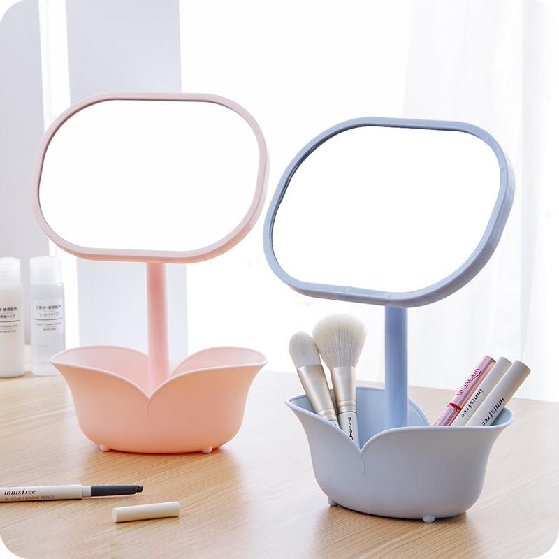 mirror storage makeup organiser
