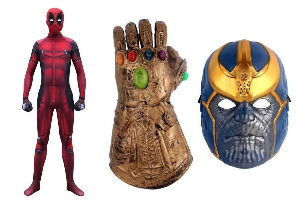 halloween costume ideas singapore adults marvel superhero thanos deadpool