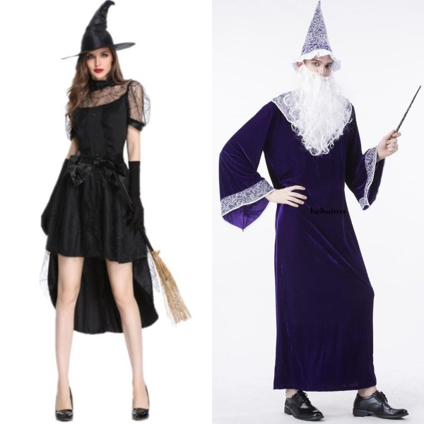 halloween costume ideas singapore wizard witch adult