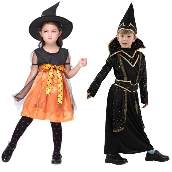 halloween costume ideas kids witch wizard