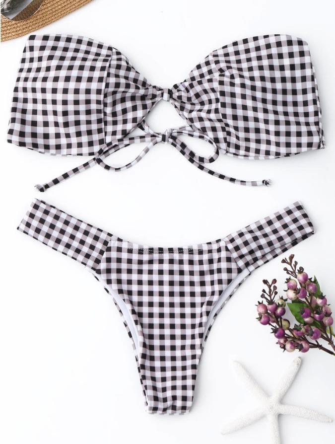 Checkered Bikini