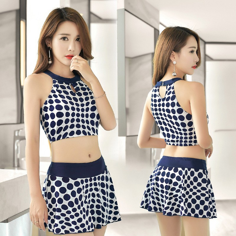 Polka dots two piece