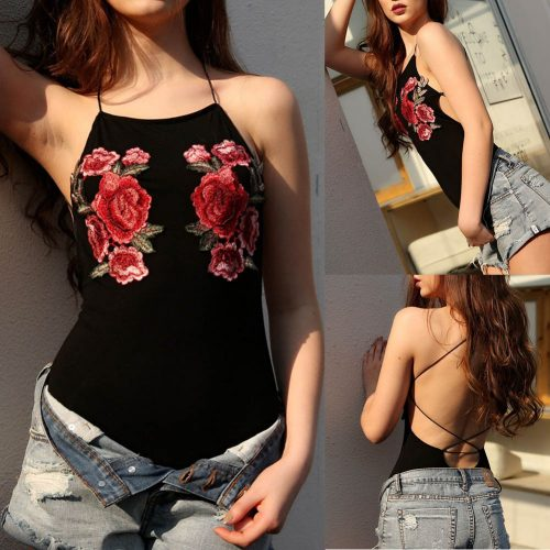 Embroidered Swimsuit