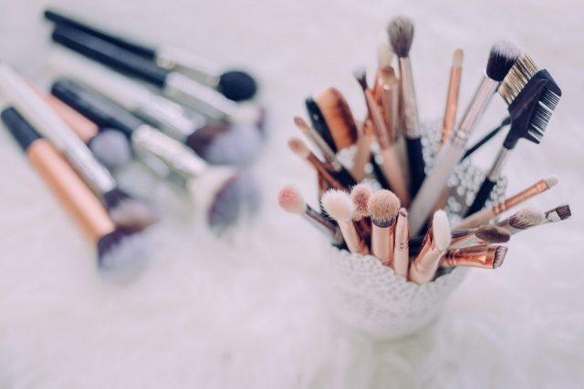 makeup organiser storage makeup brush