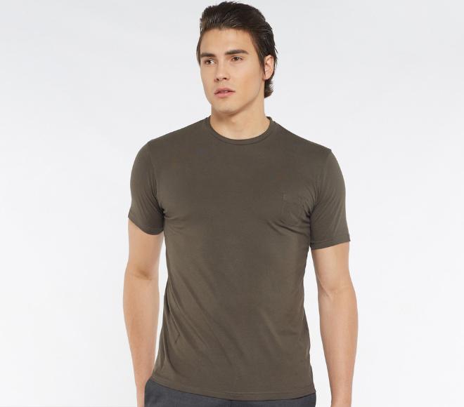 plain shirt army green men fashion singapore