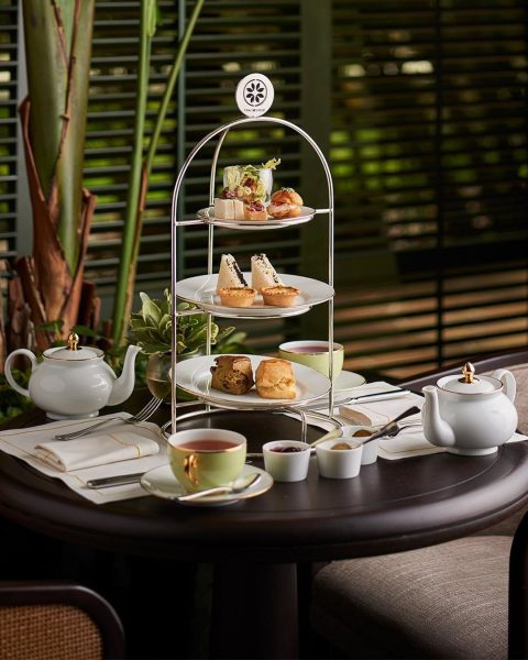 tea lounge best high tea singapore regent hotel three tier dessert