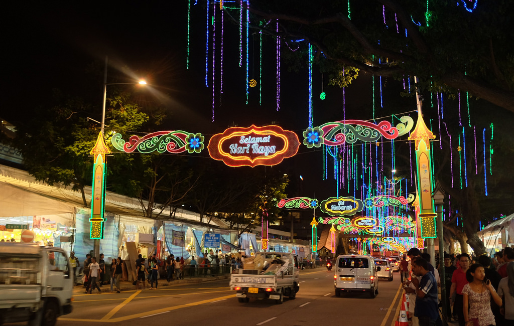 geylang serai bazaar night market