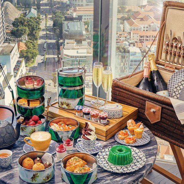 best high tea singapore alley on 25 nyonya treats andaz hotel