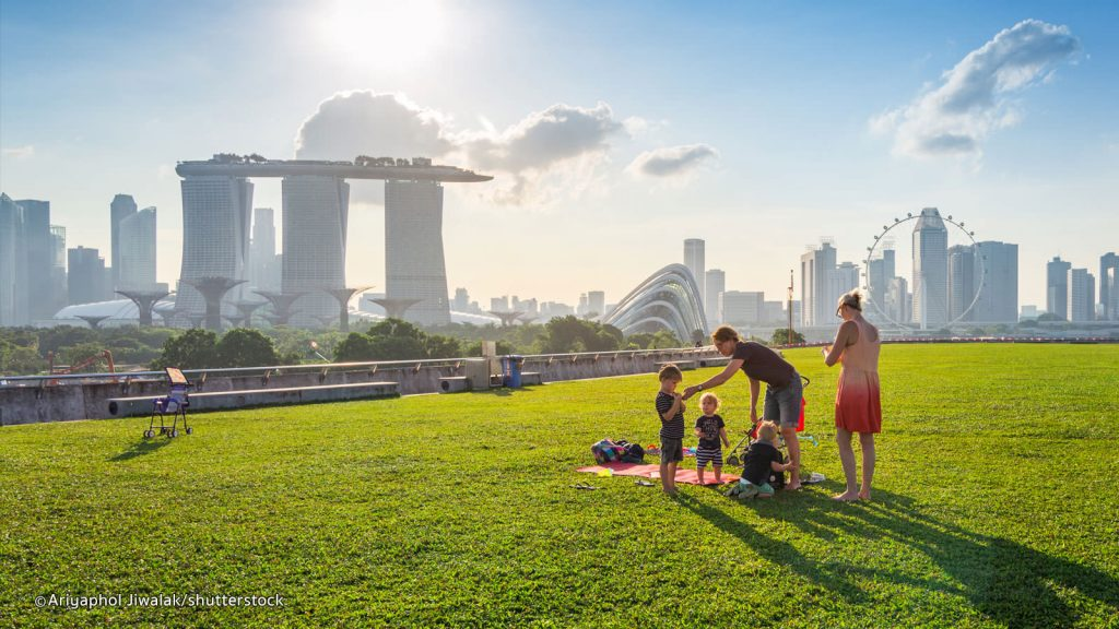 Marina Barrage Singapore