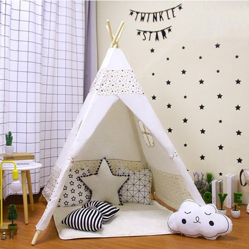 baby tent room decor