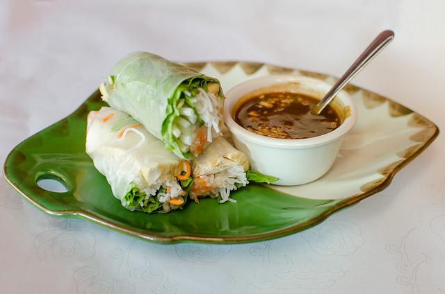 vietnamese lettuce wrap potluck ideas new years eve dinner