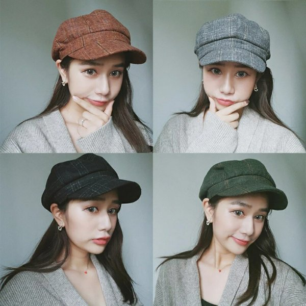 best valentine's day gifts korean vintage painter hat
