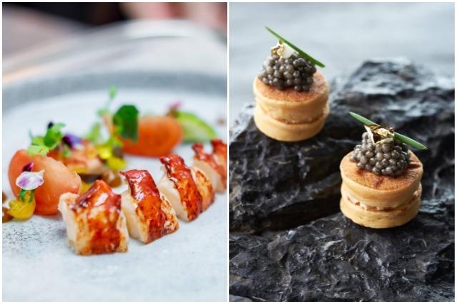 best rooftop restaurants singapore scottish lobster smoked mackerel seafood fusion food
