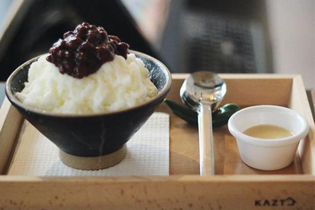bingsu singapore chibing restaurant cafe red bean