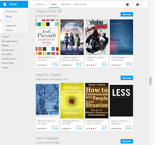 google audiobooks best audiobook platform