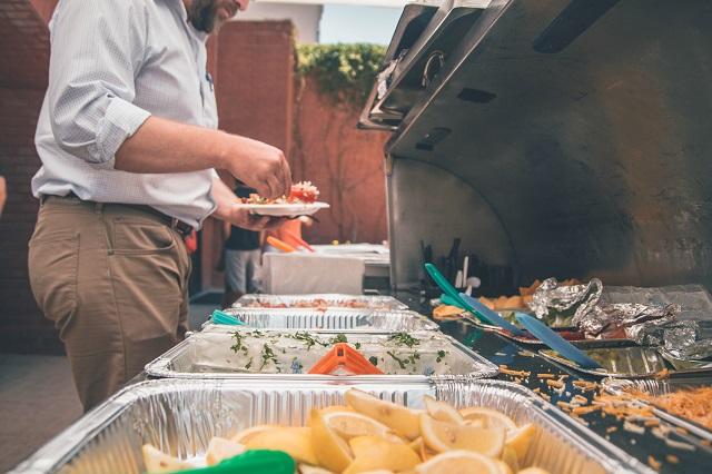 food spread feast buffet potluck ideas new years eve dinner