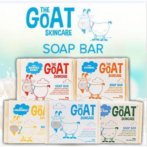 the goat skincare chamomile soap bar singapore handmade