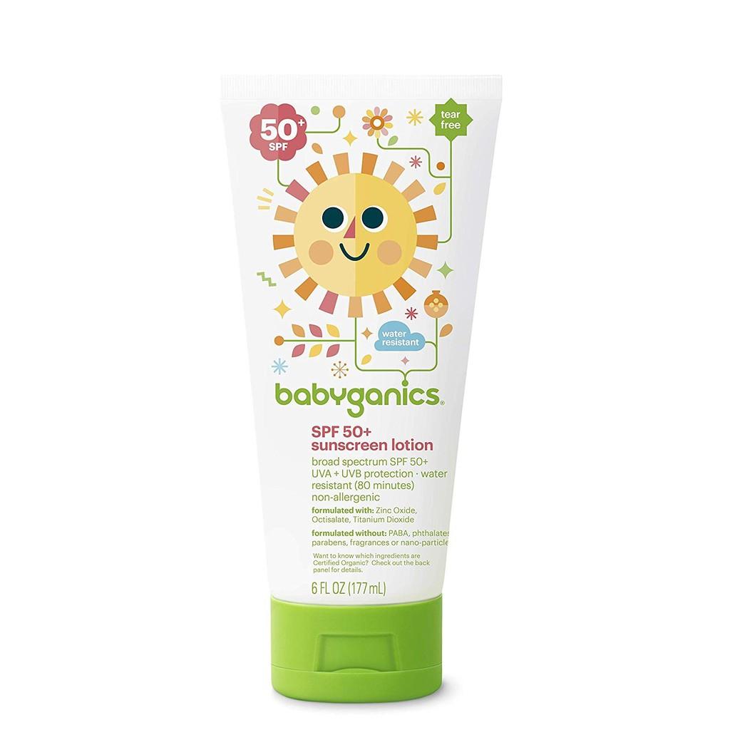 babyganics best baby skincare products suncreen