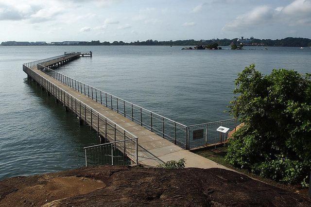 cycling singapore pulau ubin jetty