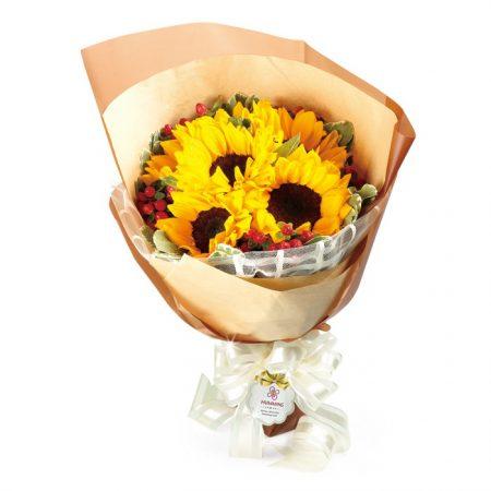 sunflowers bouquet valentines day flower singapore