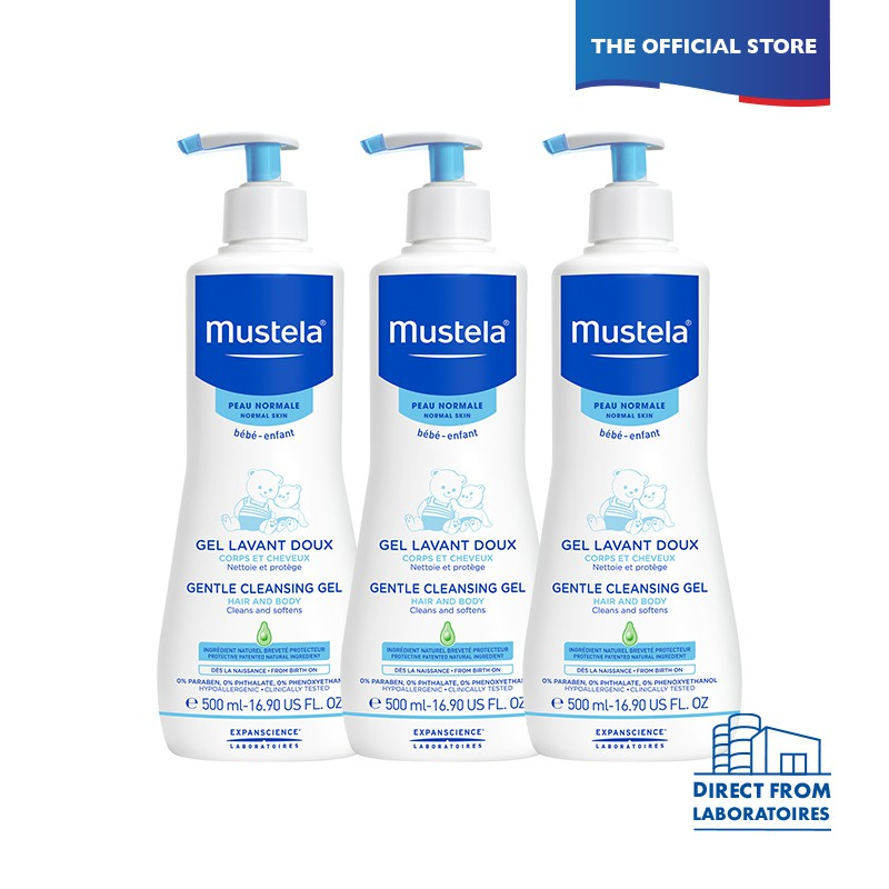 mustela baby wash and shampoo best baby skincare product