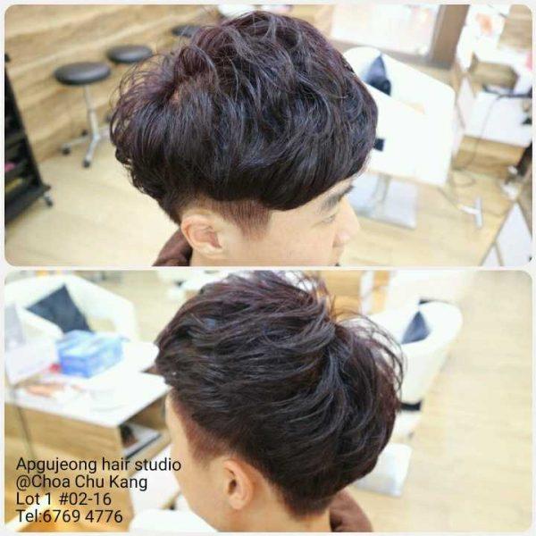 apgujeong hair studio korean hair salon singapore male hairstyle