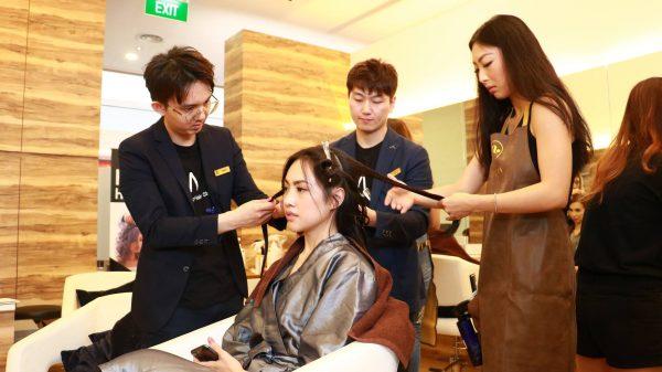 apgujeong hair studio korean salon singapore