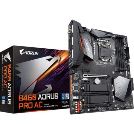 B460 AORUS PRO AC how to build a pc