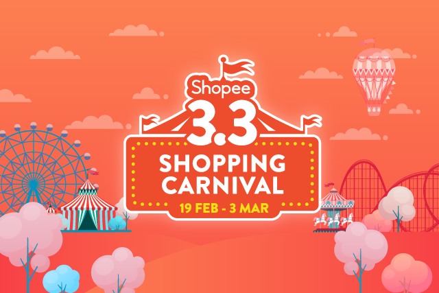 Shopee 3.3 Shopping Carnival