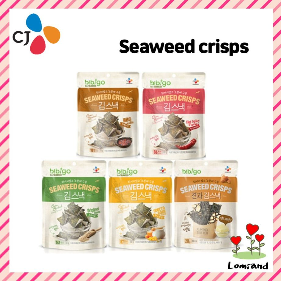 bibigo korean seaweed snacks