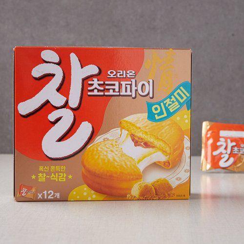choco pie korean snack