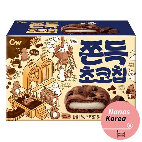 chocolate chip biscuit korean snack