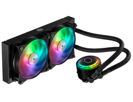 cooler master masterliquid ml240r how to build a pc