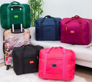 foldable duffel bag travel essential carry-on luggage