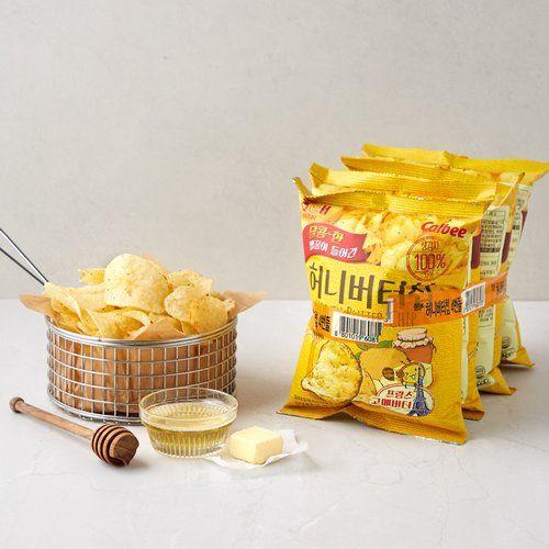 honey butter chips korean snacks