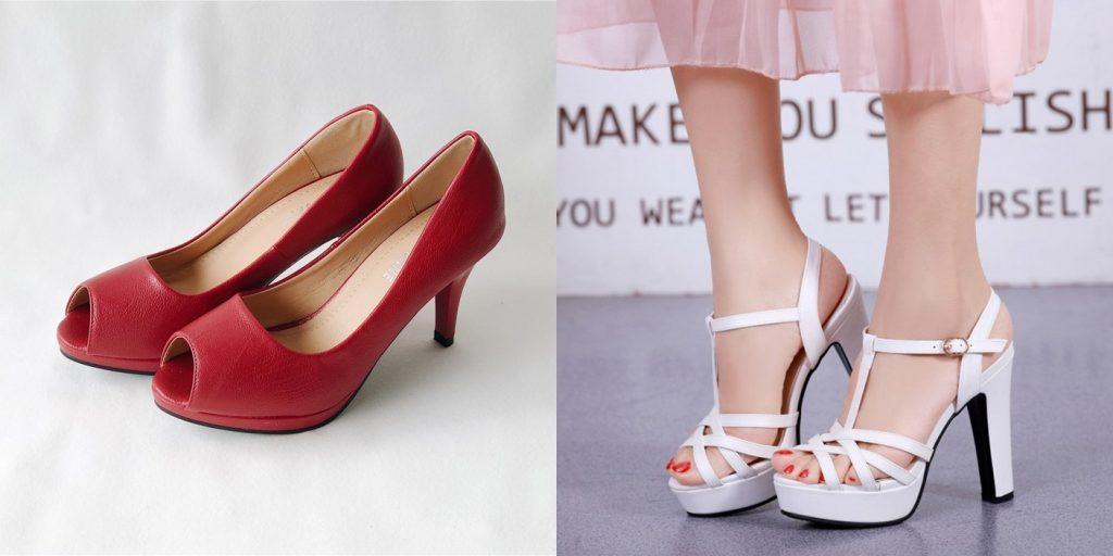 peep toes comfortable heels singapore